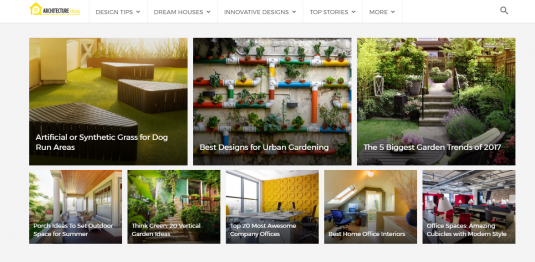 Wordpress Architecture Blog Theme