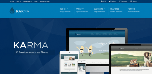 Karma Responsive Wordpress Theme